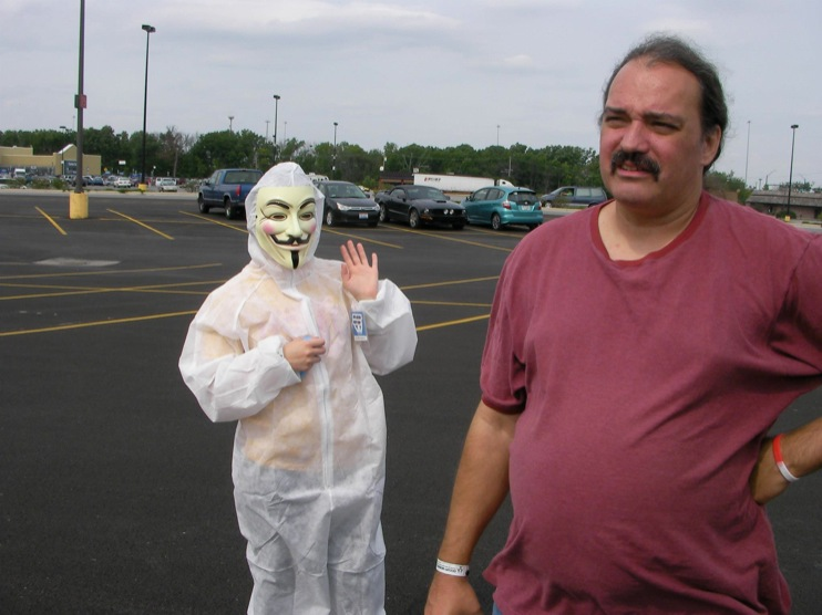 occupy monsanto defiance20 INCIDENT REPORT: Photos from GCU Field Agents outside Walmart in Defiance, Ohio Walmart Protest Parking Lot Ohio OH manager GMO Labeling GMO Corn gmo Demonstration Defiance Decontamination Event