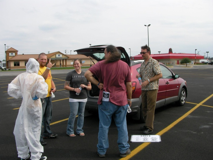 occupy monsanto defiance27 INCIDENT REPORT: Photos from GCU Field Agents outside Walmart in Defiance, Ohio Walmart Protest Parking Lot Ohio OH manager GMO Labeling GMO Corn gmo Demonstration Defiance Decontamination Event