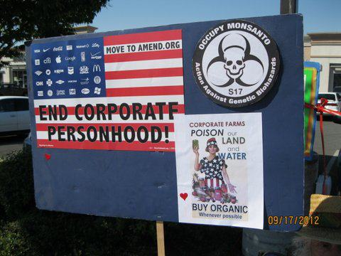 occupy monsanto selma10 INCIDENT REPORT: Photos from GCU Field Agents in Grants Pass, Oregon Selma Protest Oregon OR Demonstration Decontamination Event