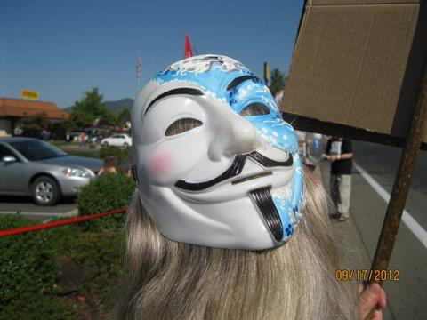 occupy monsanto selma8 INCIDENT REPORT: Photos from GCU Field Agents in Grants Pass, Oregon Selma Protest Oregon OR Demonstration Decontamination Event