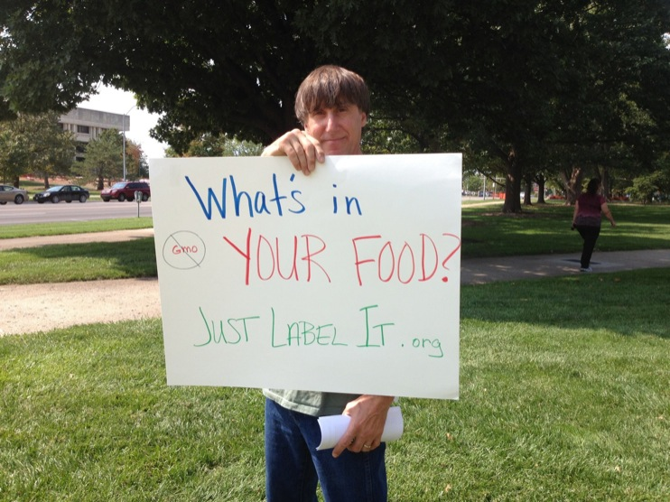 occupy monsanto topeka1 INCIDENT REPORT: Photos from GCU Field Agents outside of the State Capitol in Topeka, Kansas Topeka State Capitol Protest Midwest KS Kansas Frankenfoods Demonstration capital bees