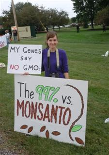 "05LowVsMonsanto Occupy Monsanto in St. Louis: Action 3   ""Rats Who Eat 'em Already Know…"" Whole Foods Market street STL Stacy Park St. Louis signs road Rats Protest Picket Occupy Monsanto National Lawyers Guild Monsanto World Headquarters MO Missouri Millennium Hotel Maggie Ellinger Locke International Symposium on Biosafety of Genetically Modified Organisms GMOs GMO Free Midwest GMO Labeling Dr. Irina Ermakova Don Fitz Demonstration Creve Coeur Charles Jaco Barbara Chicherio banner"
