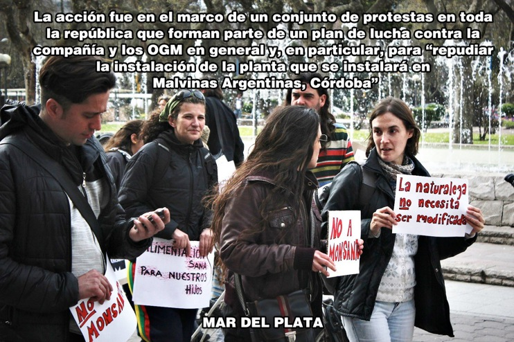 occupy monsanto mar del plata12 INCIDENT REPORT: Photos from the #S17 demonstration in Mar del Plata, Argentina Protest Millones contra Monsanto Mar del Plata Manifestación Demonstration Argentina