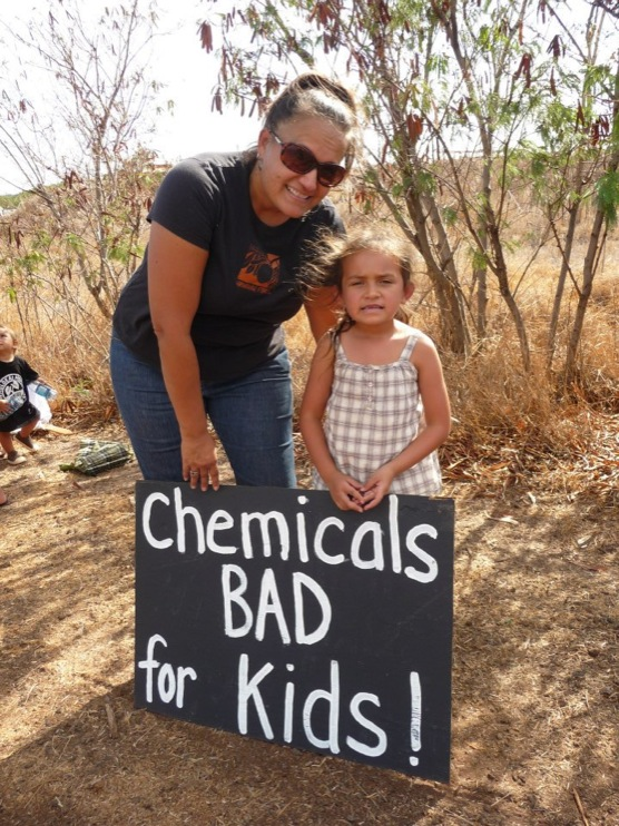 occupy monsanto molokai21 INCIDENT REPORT: Photos from GCU Field Agents in Molokai, Hawaii signs Protest pesticides organic Molokai Kids Island HI Hawaii GMO Free Molokai Farms Demonstration Chemicals