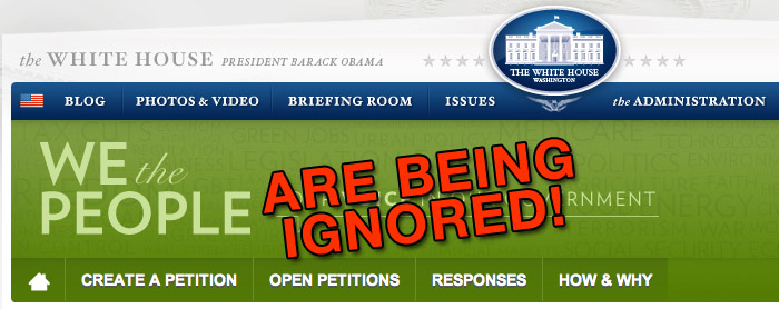 we the people banner The White House Ignoring Multiple We The People Petitions on GMO White House We the People Washington Secession Petition Secession petition Ignore GMO Labeling gmo FDA DC Barack Obama