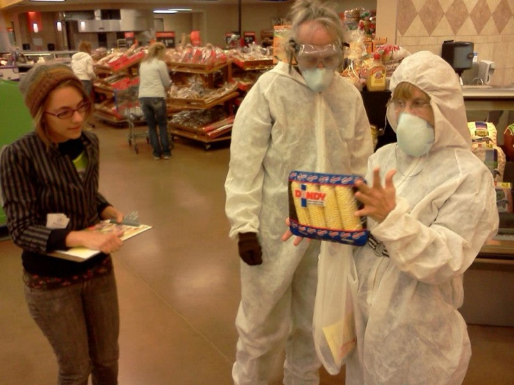 occupy monsanto gcu in stl1 INCIDENT REPORT: Genetic Contamination Found in St. Louis Grocery Stores Whole Foods Walmart Trader Joes Schnucks Safe Food Action St. Louis Organic Consumers Association Occupy Monsanto GMO Labeling Genetic Contamination Fishycorn Car Dierbergs