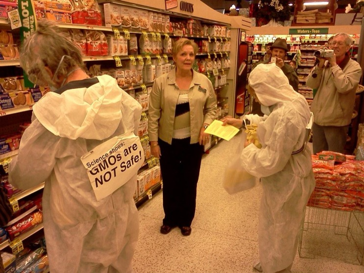 occupy monsanto gcu in stl2 INCIDENT REPORT: Genetic Contamination Found in St. Louis Grocery Stores Whole Foods Walmart Trader Joes Schnucks Safe Food Action St. Louis Organic Consumers Association Occupy Monsanto GMO Labeling Genetic Contamination Fishycorn Car Dierbergs