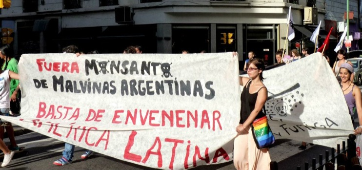 Marcha Buenos Aires5 [INCIDENT REPORT] Fotos de la Marcha en Buenos Aires Argentina street South America Protest Mundo Millones contra Monsanto Manifestacin Global Fuera Monsanto Direct Action Demonstration Cordoba Buenos Aires Argentina 