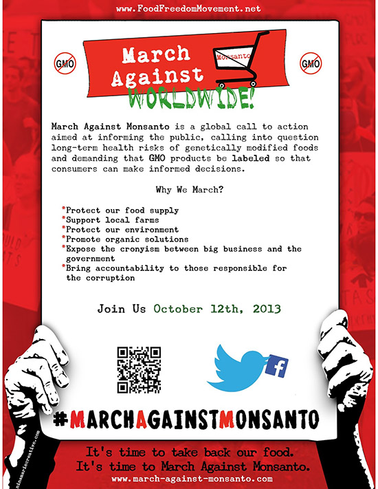 March Against Monsanto October 12