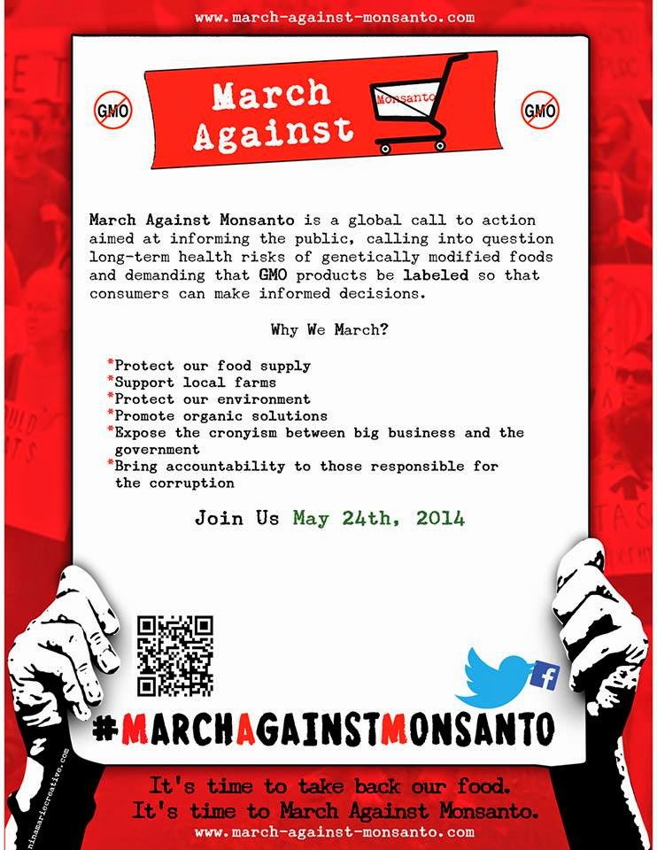 MAM24 FLYER March Against Monsanto, May 24, 2014 USDA Tumors Protest Organize organic Notes Monsanto Protection Act Monsanto March Against Monsanto March infertility GMO Seeds GMO Labeling gmo Global Day of Action FDA EPA Demonstration Congress civil disobedience cancer Boycott birth defects Activism #OpMonsanto