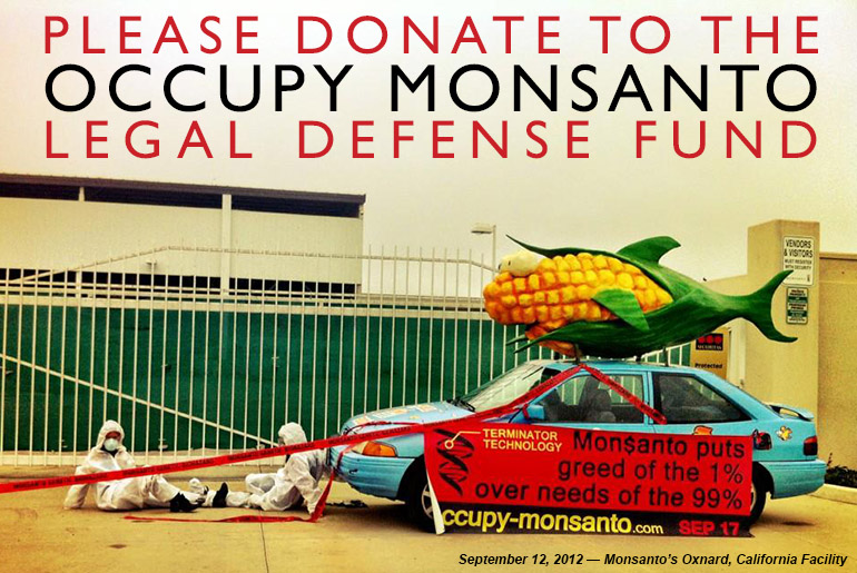 Donate to the Occupy Monsanto Legal Defense Fund
